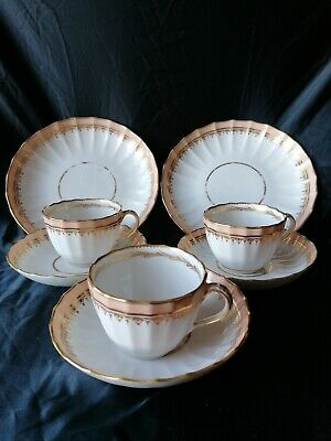 ANTIQUE Royal Crown DERBY, Cup Saucer Side Plate • 6£
