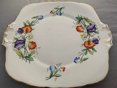Royal Stafford Cake/sandwich Plate Pattern Number 6505  • 15£
