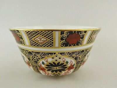 Royal Crown Derby Old Imari Open Sugar Bowl Dated 1981 / Pattern 1128 Ref 391/2 • 1£