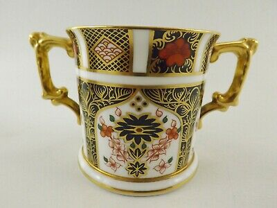 Royal Crown Derby Old Imari Loving Cup Dated 1980 / Pattern 1128 Ref 391/1 • 5.50£
