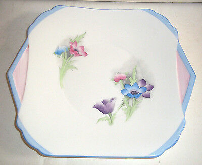 A Fine Very Pretty Art Deco Shelley Handpainted Large Plate C1930s No 2 • 14.99£