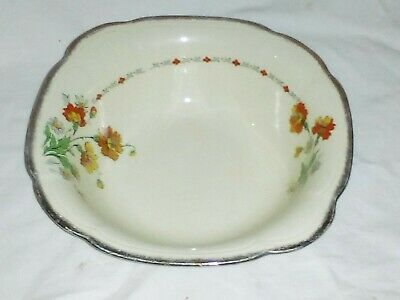 ALFRED MEAKIN Royal Marigold Serving Dish  Width 21.5 CMS Hand-painted Late 30s • 5.99£
