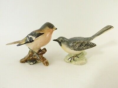 Two Beswick Birds A Chaffinch No 991 & A Grey Wagtail No 1041 Ref 397/7 • 3.20£