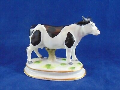 Antique Staffordshire Chelsea Cow Gold Anchor Mark • 4.99£