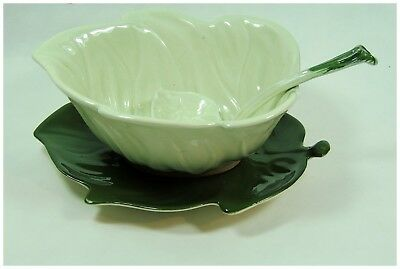 Carlton Ware Sauce Boat, With Under Plate And Spoon • 20£