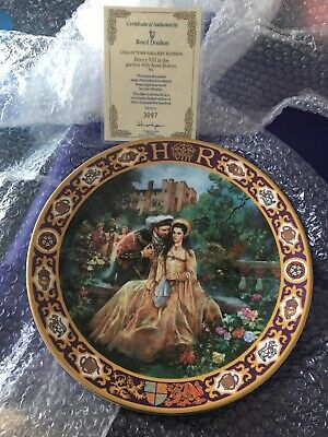 Royal Doulton Collectors Gallery Ltd Edition Plate; Henry VIII With Anne Boleyn • 10£