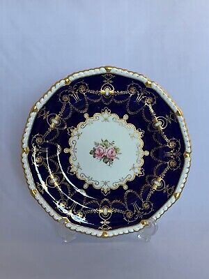 Royal Crown Derby Plate With Roses • 40£