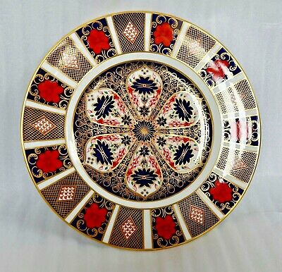 ROYAL CROWN DERBY IMARI 1128 LARGE DINNER PLATE EXC. CONDITION 10 5/8th  1979 S • 51£