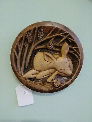 R.fisher Deer Plaque Ceramic • 11.99£