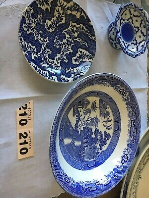 Vintage Assorted Blue And White Bowls  • 2.20£