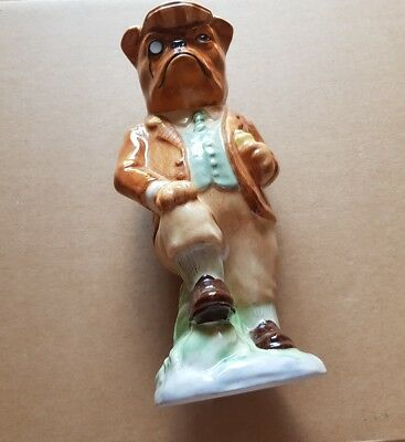 KEVIN FRANCIS- BULDOG SQUIRE -unboxed-figurine • 18£