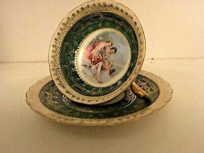 Vienna Miniature Small Cup And Saucer  F Boucher • 8£