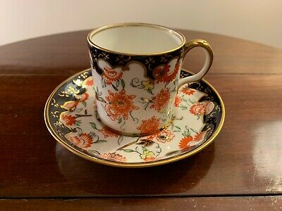 Royal Crown Derby Imari Cup Coffee Cup And Saucer • 40£