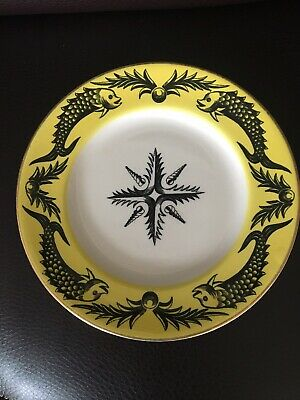 Portmeirion Grays Rare Dolphin Pattern Side Plate • 25£
