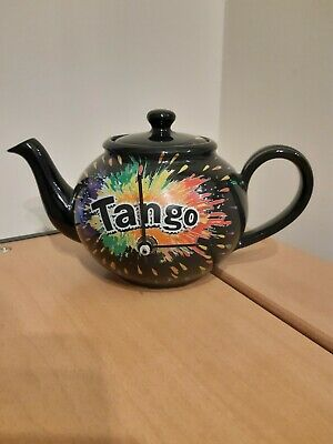 Tango Teapot Made By Greyshot Pottery With Clock (not Working) • 4.99£
