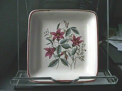 Midwinter Stylecraft Fashion Square Floral Pin Dish - Pre-owned • 3£