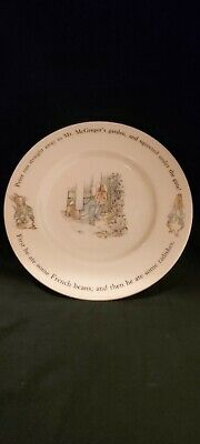 Peter Rabbit Ceramic 8  Plate Wedgewood  Good Condition  • 5.50£