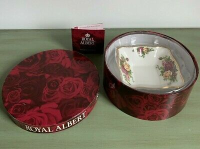 royal Albert Old Country Roses Sweet/trinket Dish Gift Set In Box Mothers Day  • 7£