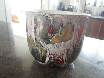 Unusual Lustre  West Germany Plant Pot  Lovely Condition, Buy It Now £19 • 19£
