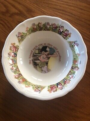 "AYNSLEY China - DISNEY SNOW WHITE 6.5"" Dish/Bowl EXC • 5£"