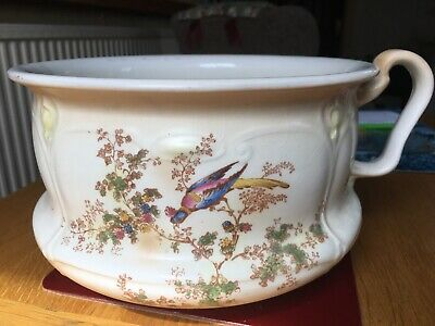 Vintage Crown Ducal Chamber Pot Early 20th Century • 25£