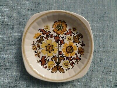 Vintage 1970'S Royal Worcester Group Palissy Tiffany Small Dish. • 4£