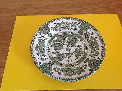 English Ironstone Tableware, Side Plate Indian Tree Pattern, Green  • 6.99£