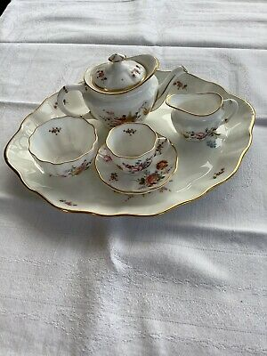 Royal Crown Derby Posies Miniature Teaset On Tray • 39£