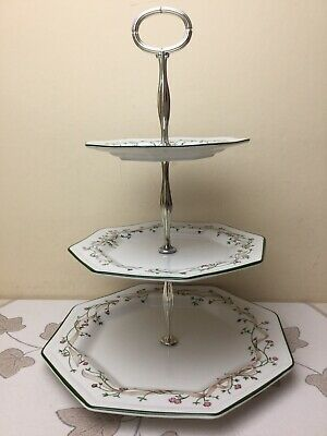 Johnson Brothers Eternal Beau 3 Tier Cake Stand Unused Condition • 29.99£