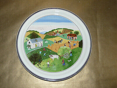 Villeroy And Boch The Four Seasons No.2 Summer Wall Hanging / Plate • 34.99£