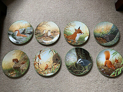 Royal Doulton Rollinsons Portraits Of Nature Limited Edition Plates • 15£