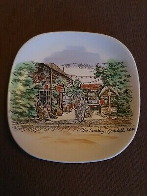 Vintage, Antique Lord Nelson Pottery England Plate. The Smithy Godshill, IOW • 1.61£