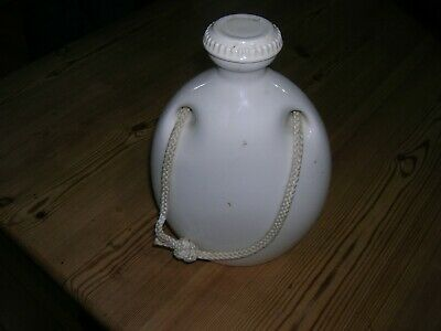 Antique Stoneware Grimwades The Mecca Hot Water Bottle – With Screw Cap & Rope • 25£