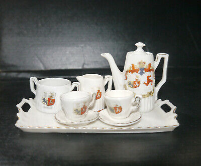 Gemma Crest Ware - Isle Of Man Coffee Set • 25£