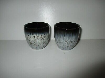 Denby Pottery Halo 2 X Extra Small Pots New First Quality Excellent Condition • 19.50£