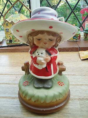 Vintage Musical Figurine Japan Kitsch Probably 1950's Excellent Condition • 12£