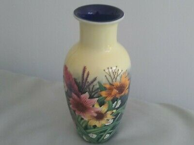 Old Tupton Ware 9  Summer Bouquet Hand Painted Vase - Excellent • 22£