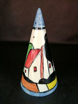 Devonware Fielding Weekend AwayTy Will Conical Sugar Sifter Shaker Clarice Cliff • 14.99£