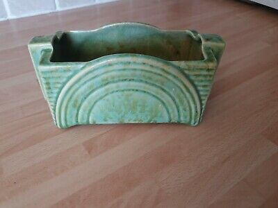 Shorter And Son Pottery 201 Pattern Green • 15£