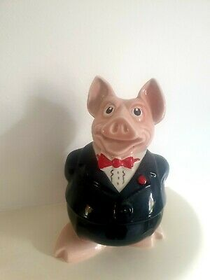 NatWest Pig - Sir Nathaniel With Original Stopper • 22.40£
