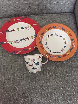Villeroy And Boch Breakfast Set, Mug,Plate And Bowl • 12.99£