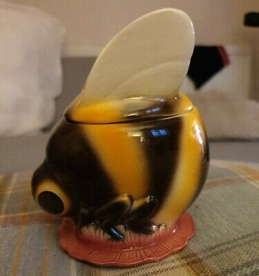 Bumble Bee Honey Pot W.Goebel W.Germany • 200£