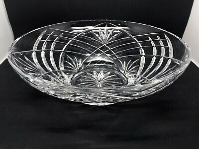 Lovely Large Cut Glass Bowl • 15£
