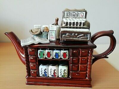 Paul Cardew Large Limited Edition Collectors Teapot Chinese Tea Shop • 69£