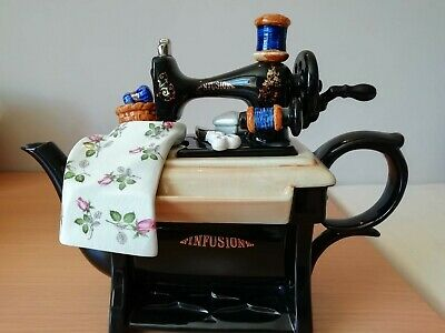 Cardew Designs Large Collectors Teapot 'Infusion' Sewing Machine • 45£
