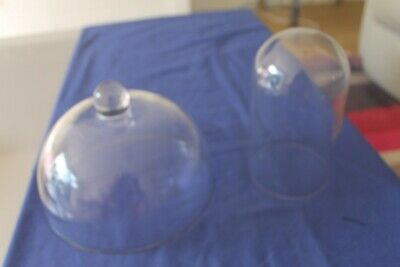 Glass Cheese Dome And Glass Dome For Carriage Clock • 18£