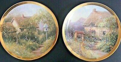 Royal Doulton COTTAGE AT WISHING WELL LANE Plate & DOVE COTTAGE PLATES  • 9.99£