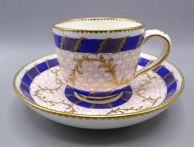 Exquisite 18th Centruy Sevres Cup With Saucer - Dated 1772 Louis-Jean Tevenet • 150£