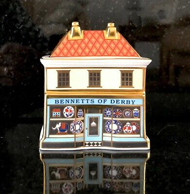 Royal Crown Derby 'Bennett's China Shop'- Special Edition Of 70 • 49£