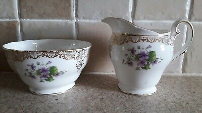 Royal Standard, Milk And Sugar Bowl In Good Condition • 0.99£